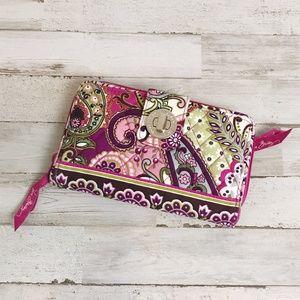 Vera Bradley | Very Berry Paisley Wallet